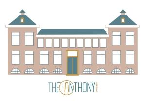 Illustratie Hotel The Anthony Lombok Utrecht illustrator Renske Jurriëns