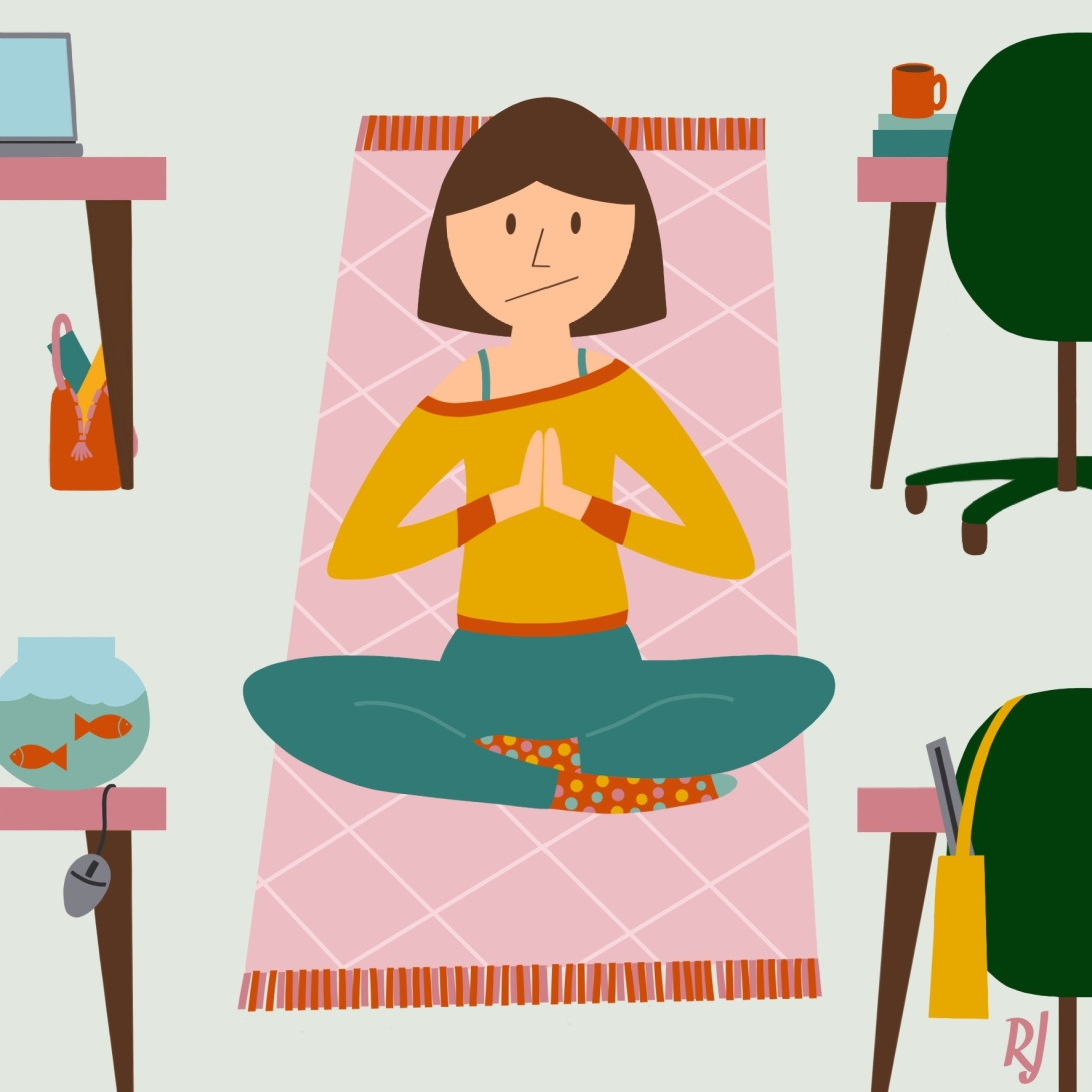 Yoga-op-kantoor